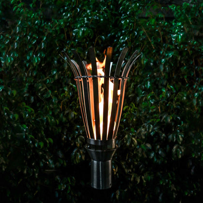 Basket Fire Torch - Outdoorlivingsuites