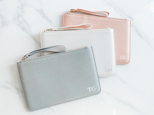 Load image into Gallery viewer, Personalised Monogram Clutch Bag