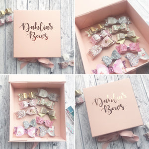 Personalised Bow Storage Box