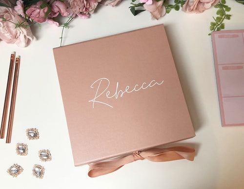 Scripted Gift Box