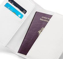 Load image into Gallery viewer, Personalised Monogram Passport & Luggage Tag Set