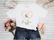 Load image into Gallery viewer, Geometric Heart Tshirt