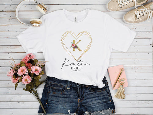 Geometric Heart Tshirt