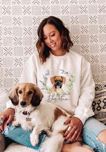 Load image into Gallery viewer, Personalised dog mum jumper