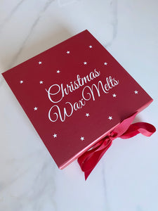 Christmas wax melt box