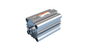 AQ2 Series - Large Diameter Compact Cylinder: Standard type/double action - Single (double) rod