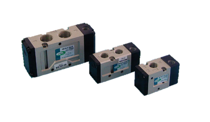TPC Automation Pneumatic 3/5-Port Air Operate Directional Control Valve