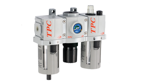 TPC Automation Pneuamtic fluid power FRL Combination Unit Modular type with various accessories