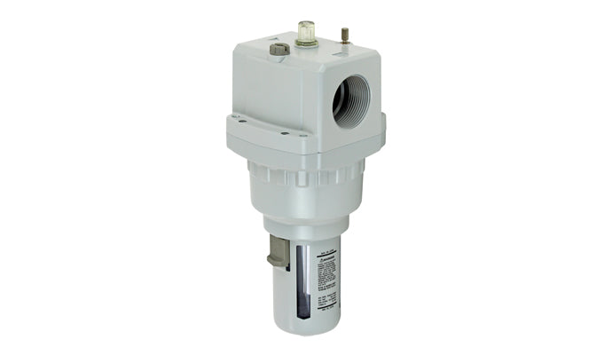 TPC Automation Pneumatic Lubricator modular type with bowl guard and button options
