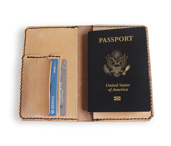 Passport Wallet - Natural