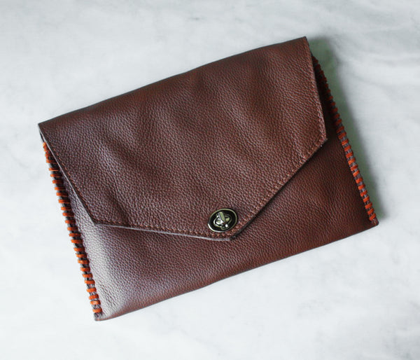 Envelope Pouch - Brown
