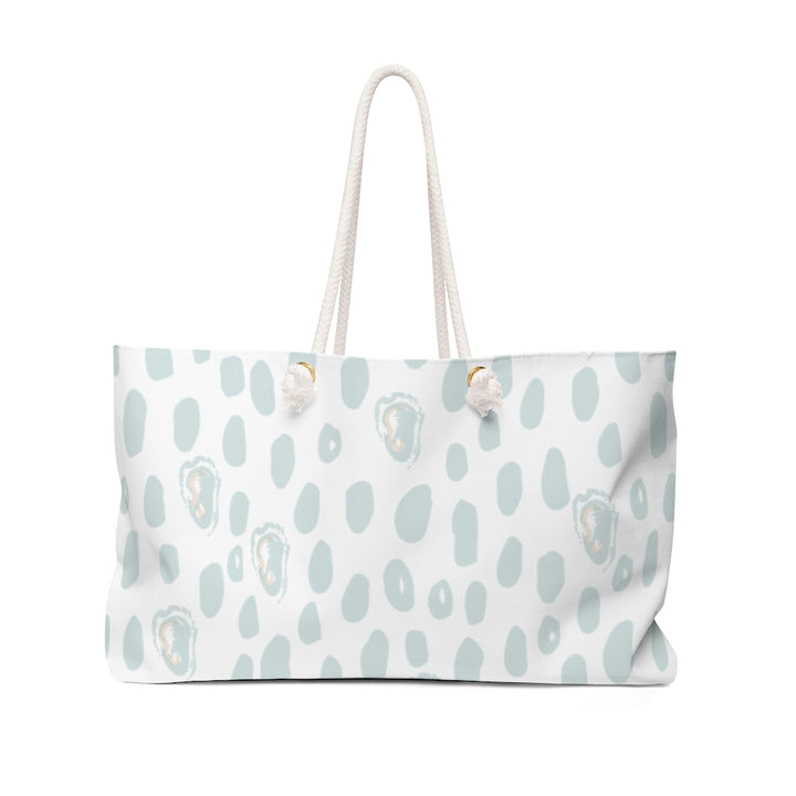 Abstract Oyster Weekender Bag