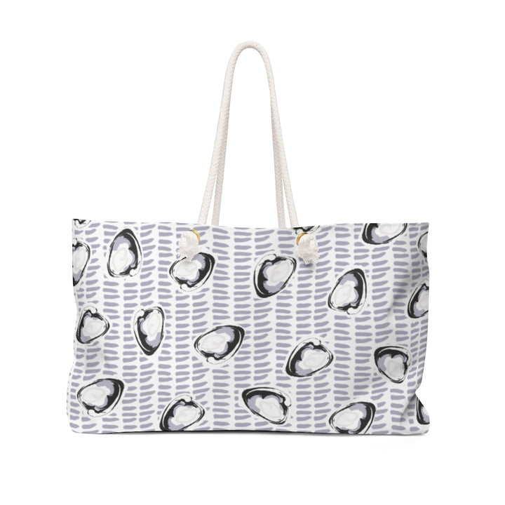 Abstract Coastal Clam Weekender Bag