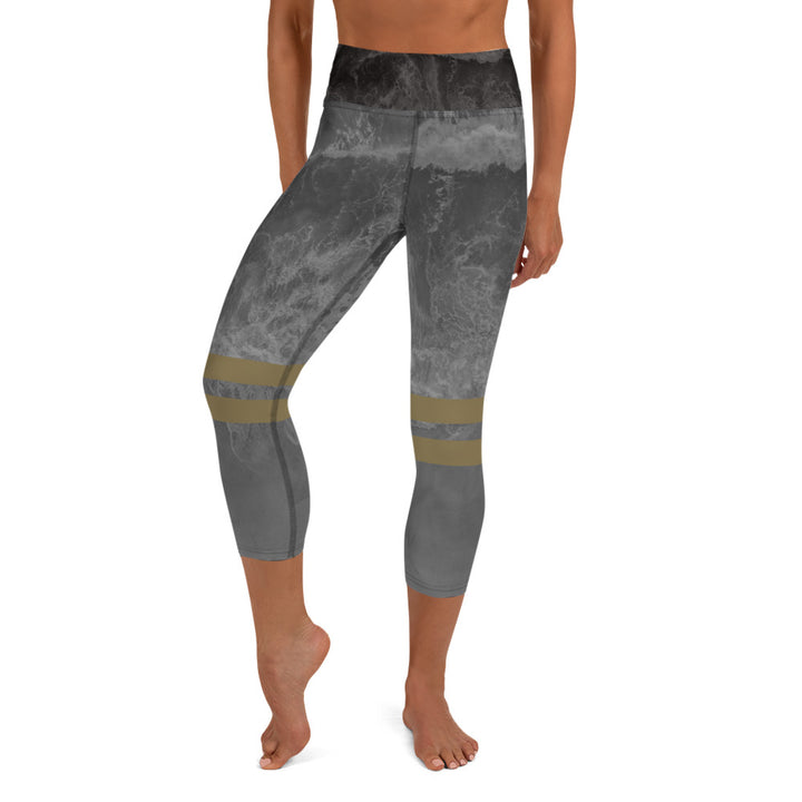 Moon Wave Yoga Capri Pant