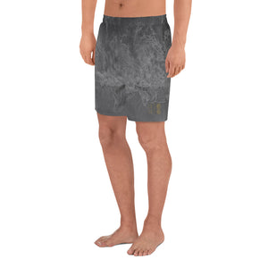 Men's Moon Wave Athletic Long Shorts