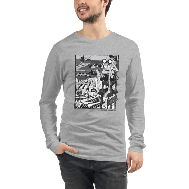 Wave Watcher Unisex Long Sleeve Tee
