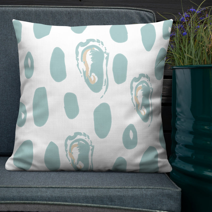 Abstract Oyster Premium Pillow