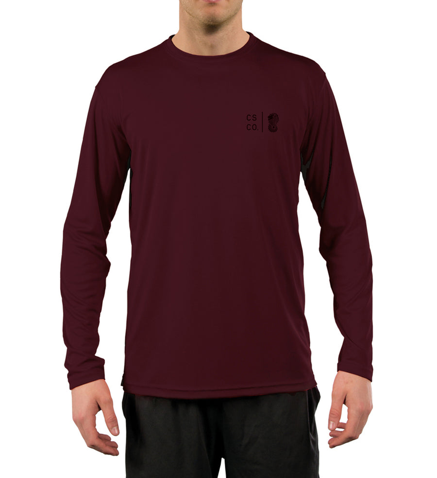 UPF Maroon Simple