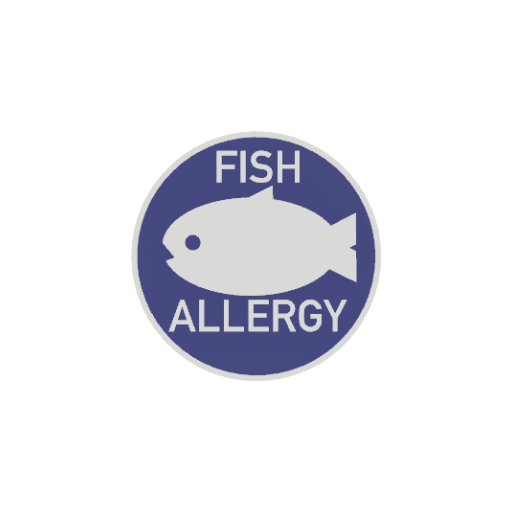Fish Allergy Badge