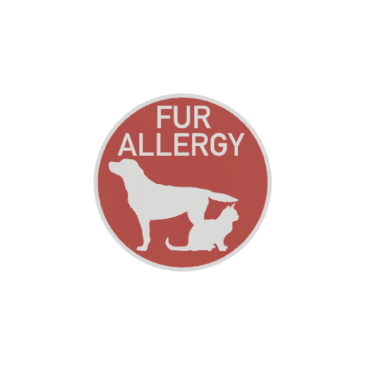 Fur Allergy Badge