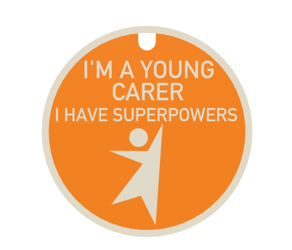 I'm a Young Carer I Have Superpowers + Lanyard