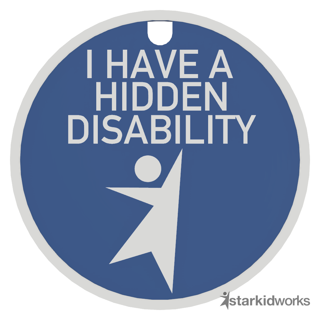 Hidden Disability Tag + Lanyard