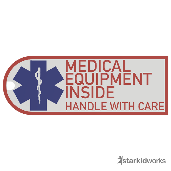 Medical Equipment Inside Tag