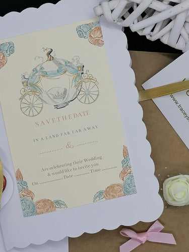 Cinders Themed Invite Set