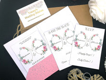 Load image into Gallery viewer, Blushing Pink Invitation Set