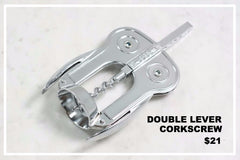 spanish double lever corkscrew