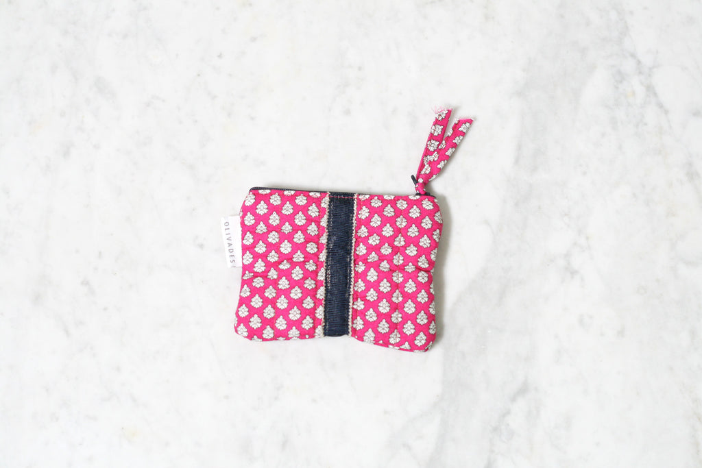 Provence Print Petite Wallet Ampo