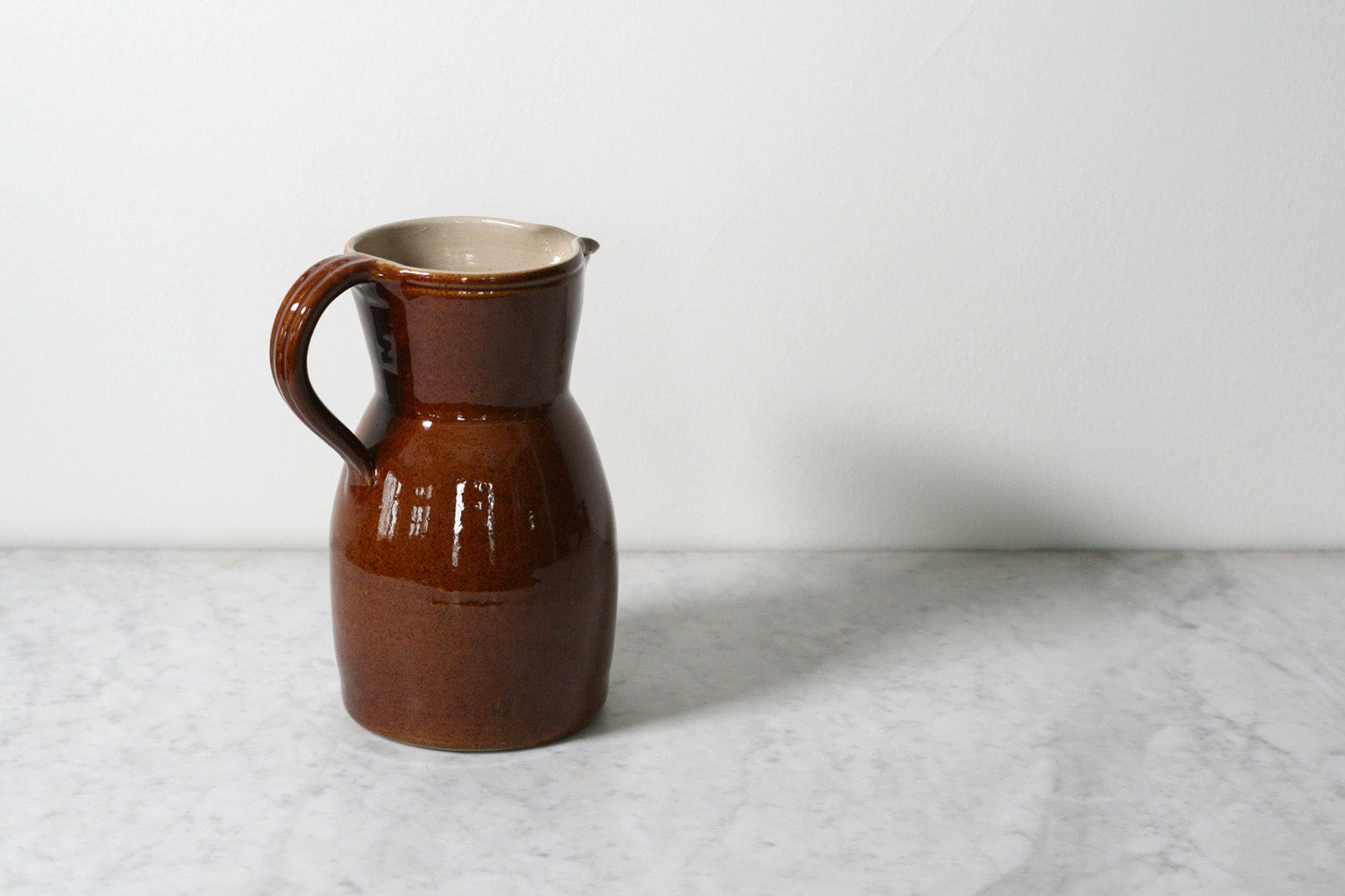 Poterie Renault French Stoneware Berry Pitcher