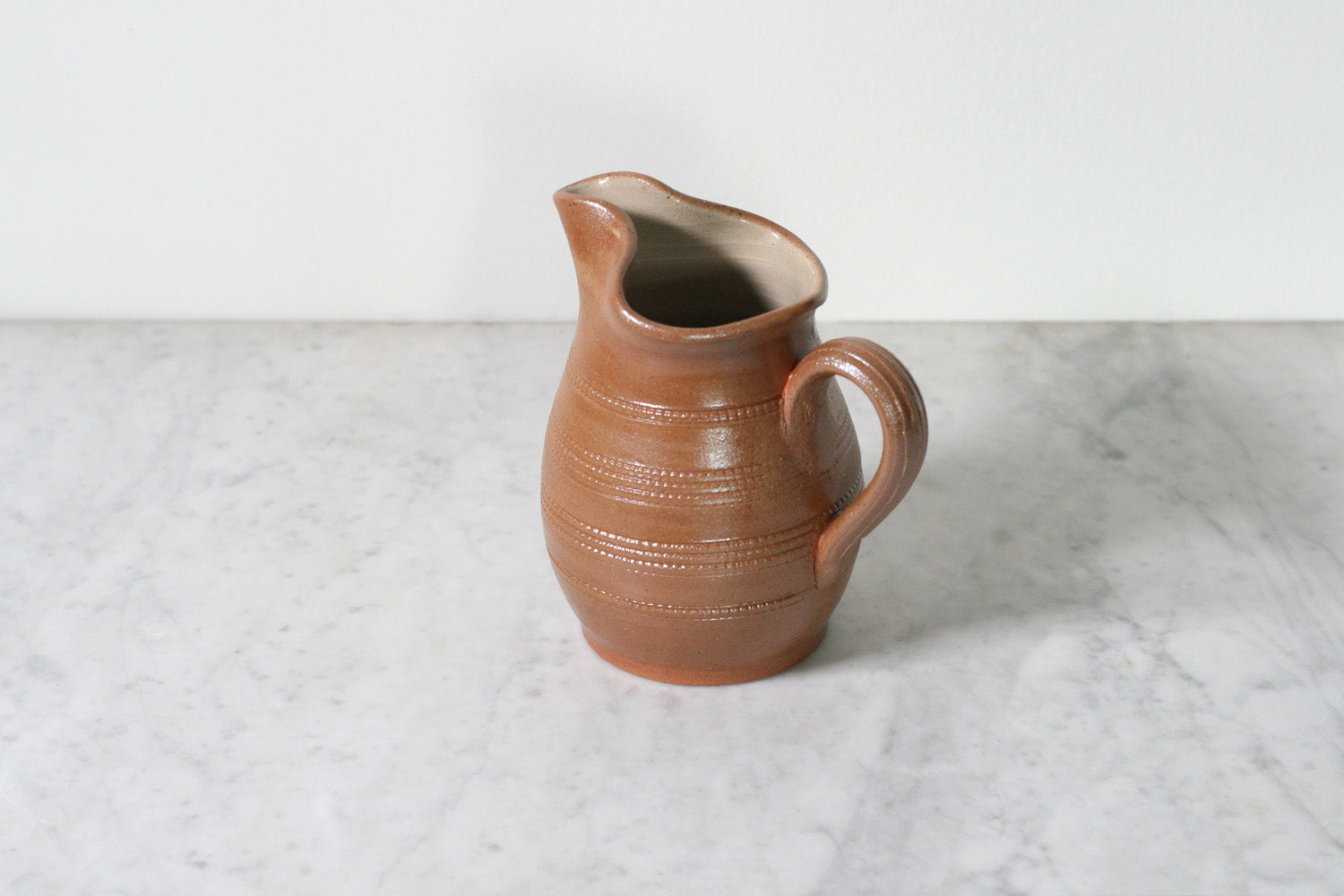 Poterie Renault French Stoneware Big Spout Pitcher