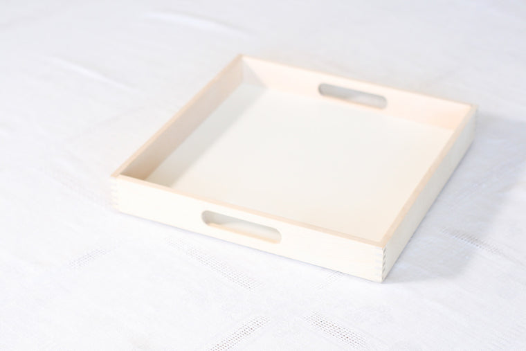 Birch Tray with Handle