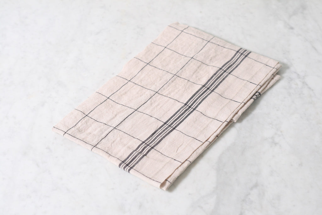 Charvet Editions Bistro Dish Towel. Made in France.