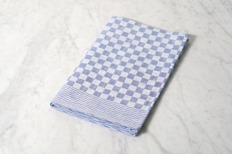Checked Linen Dish Towel