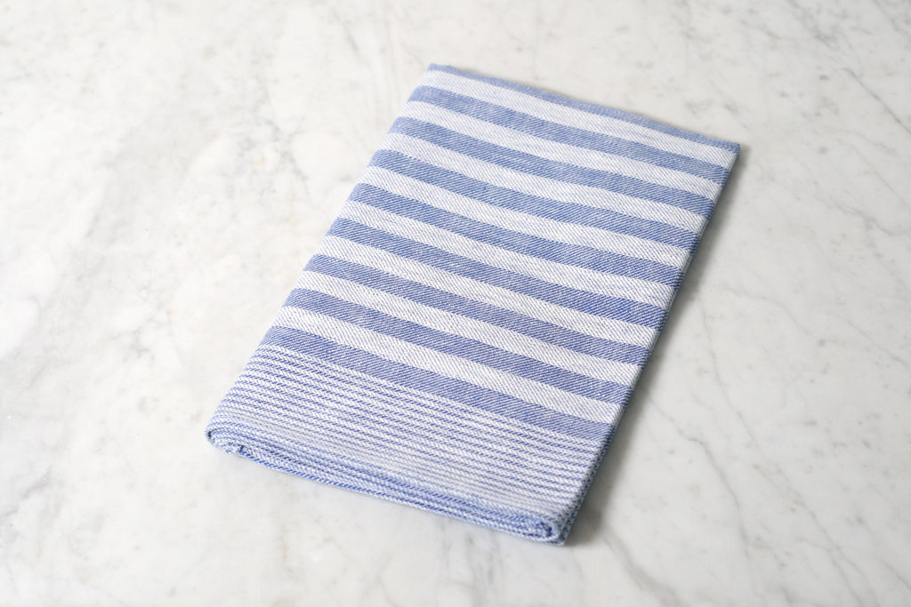 German Striped Linen Dish Towel