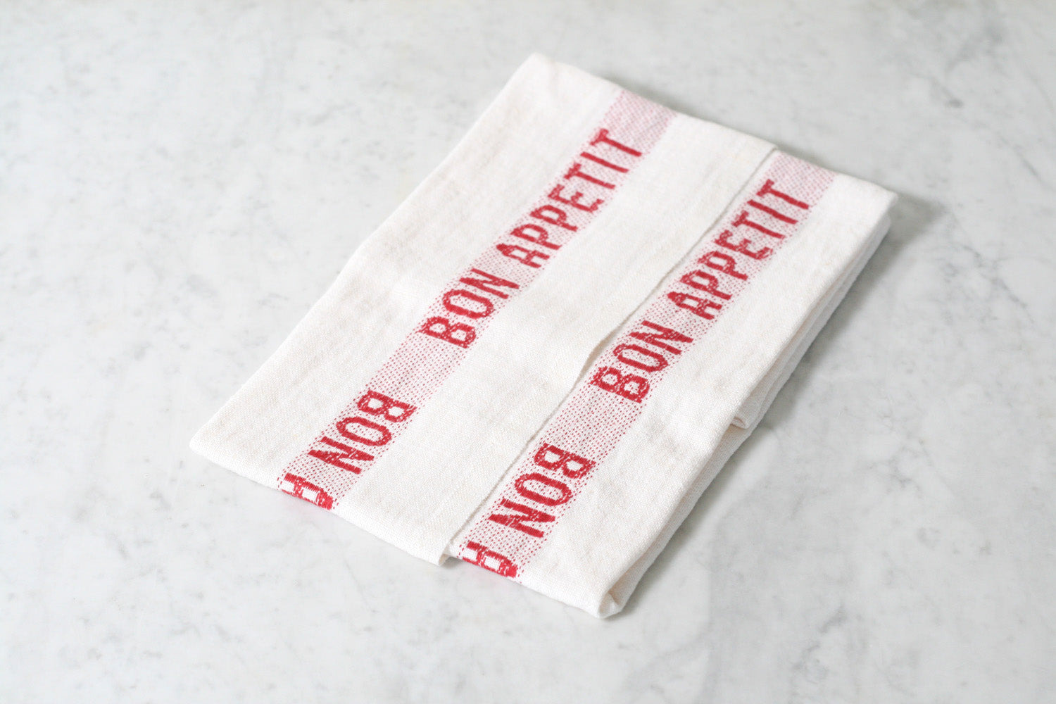 Bon Appetit Dish Towel. Charvet Editions. Made in France.