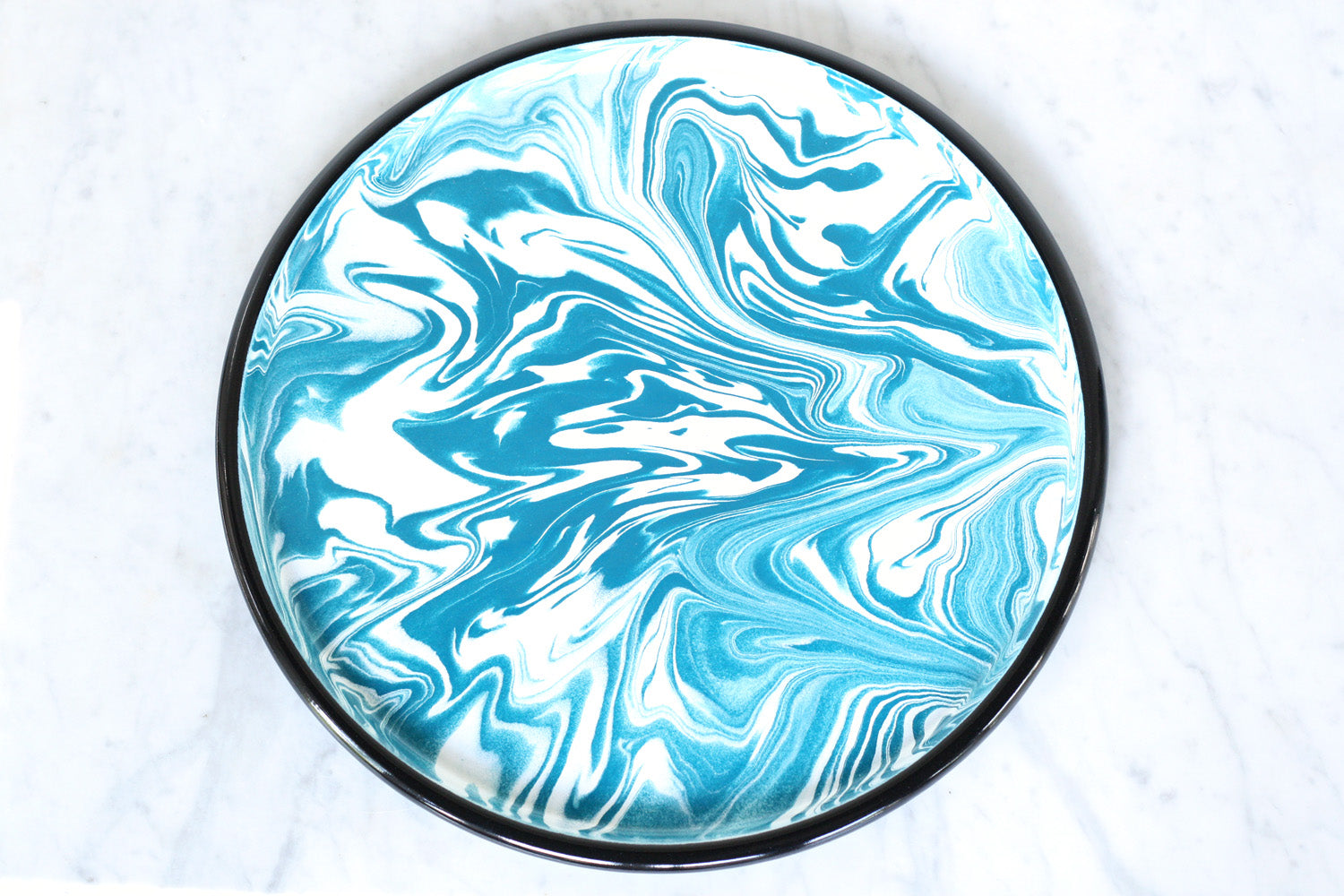Bornn Marble Enamel Serving Tray
