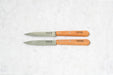 Opinel No. 102 Paring Knife Set Carbon Steel
