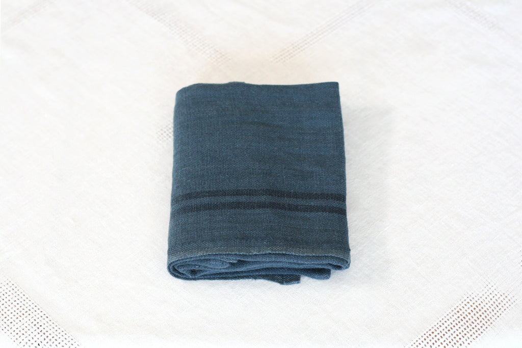 Striped Linen Dish Towel