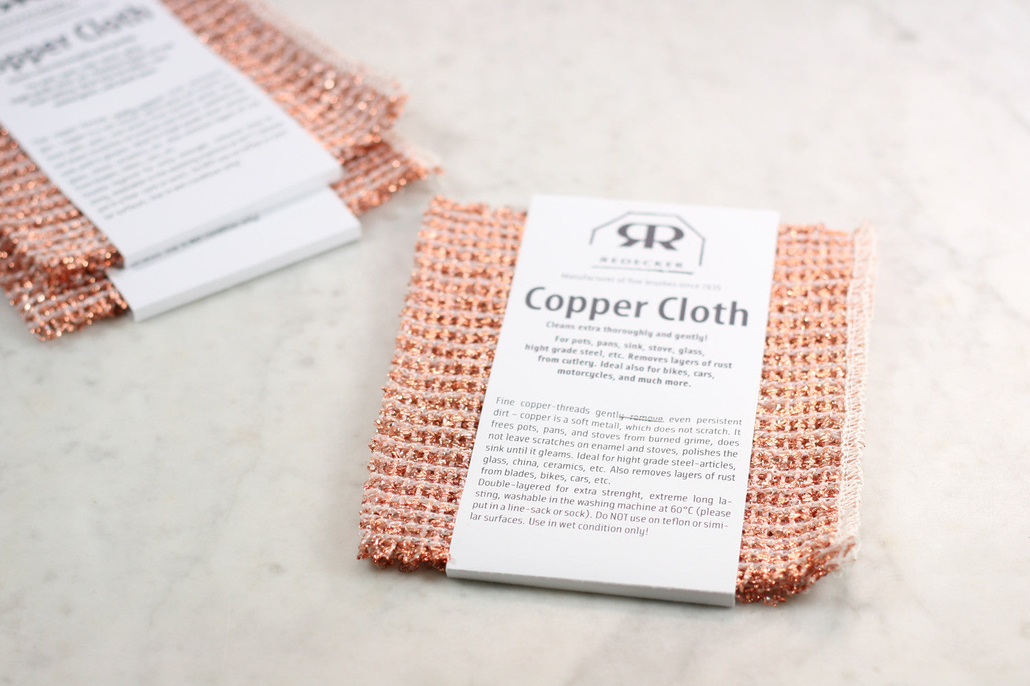 Copper Cloth, Set of Two