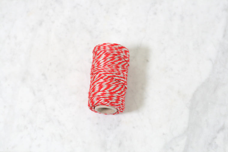 Flax Twine Red