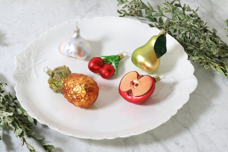 Apple Slice Ornament