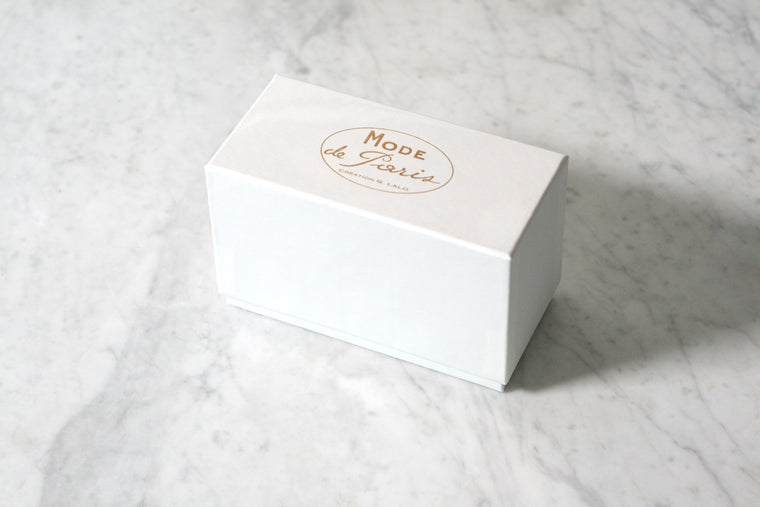 G. Lalo Mode de Paris Boxed Stationery, Blanc