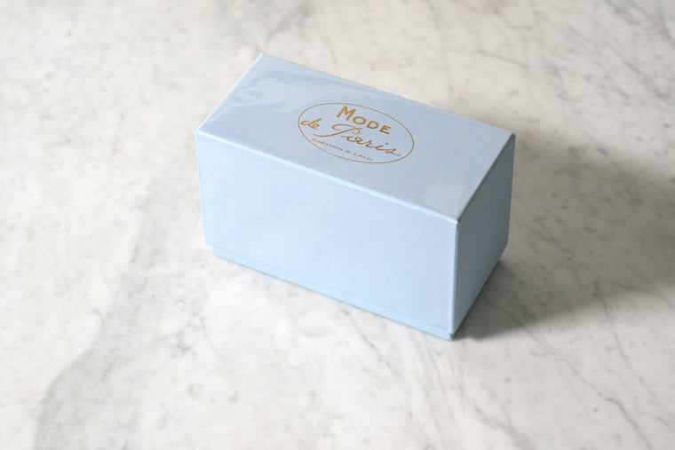 G. Lalo Mode de Paris Boxed Stationery, Blue