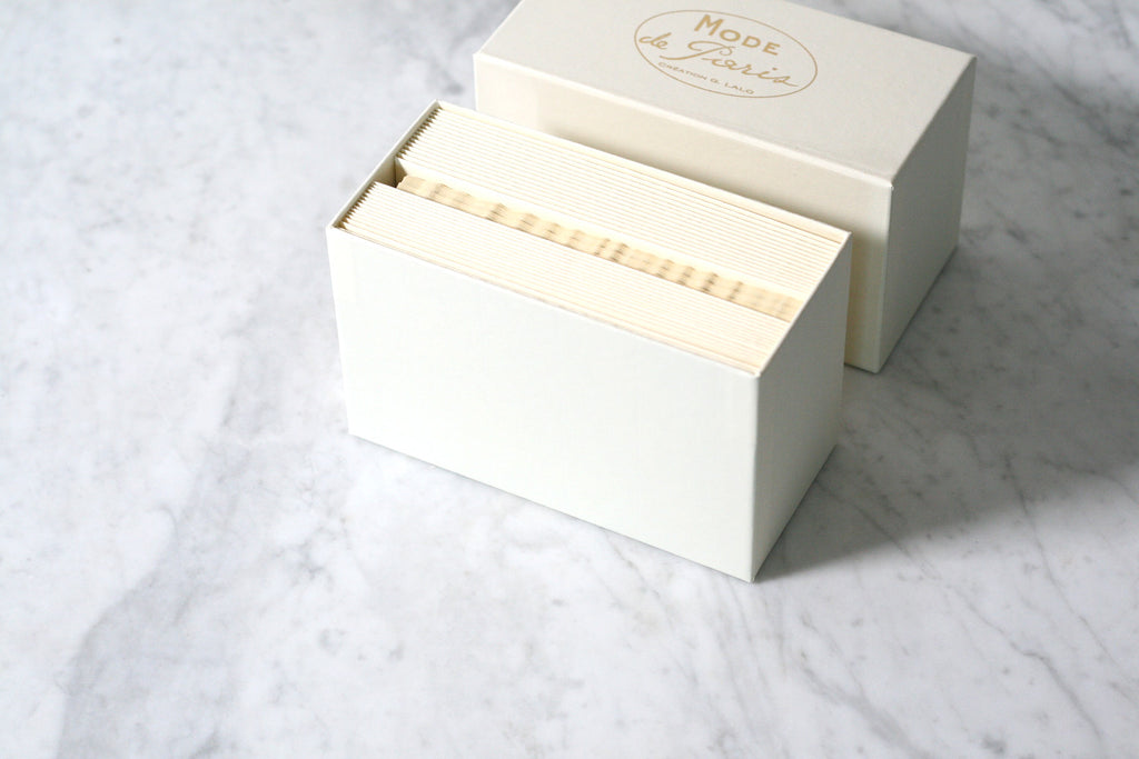 G. Lalo Mode de Paris Boxed Stationery