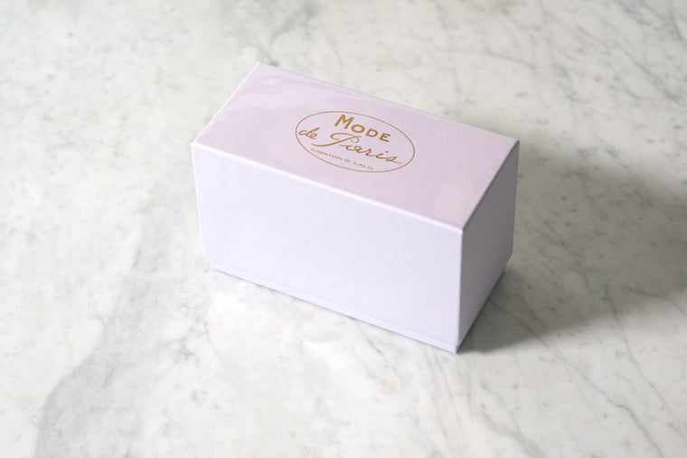 G. Lalo Mode de Paris Boxed Stationery, Lavender