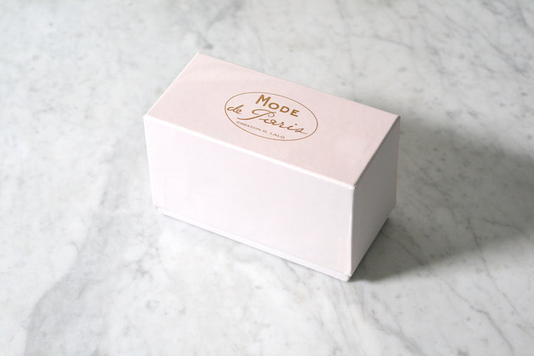 G. Lalo Mode de Paris Boxed Stationery, Rose