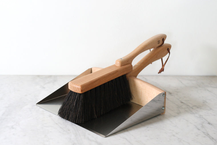 Garden Dustpan and Brush Set